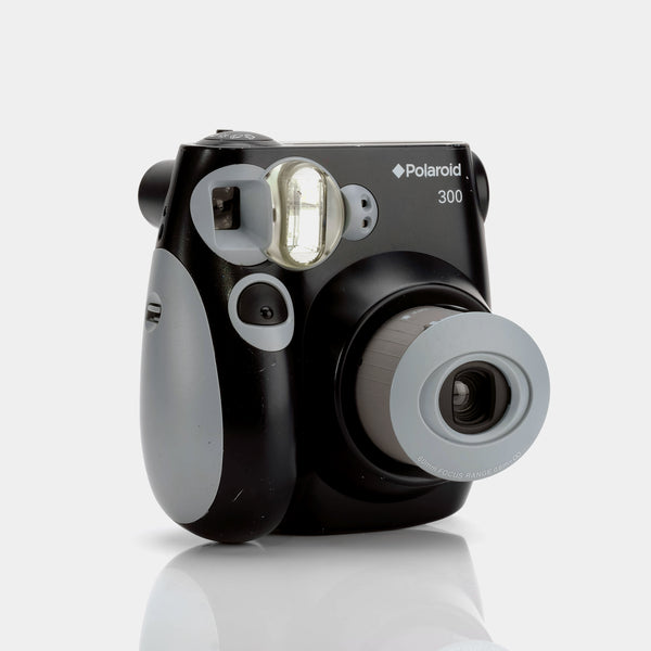 Polaroid 300 Black Instax Mini Instant Film Camera