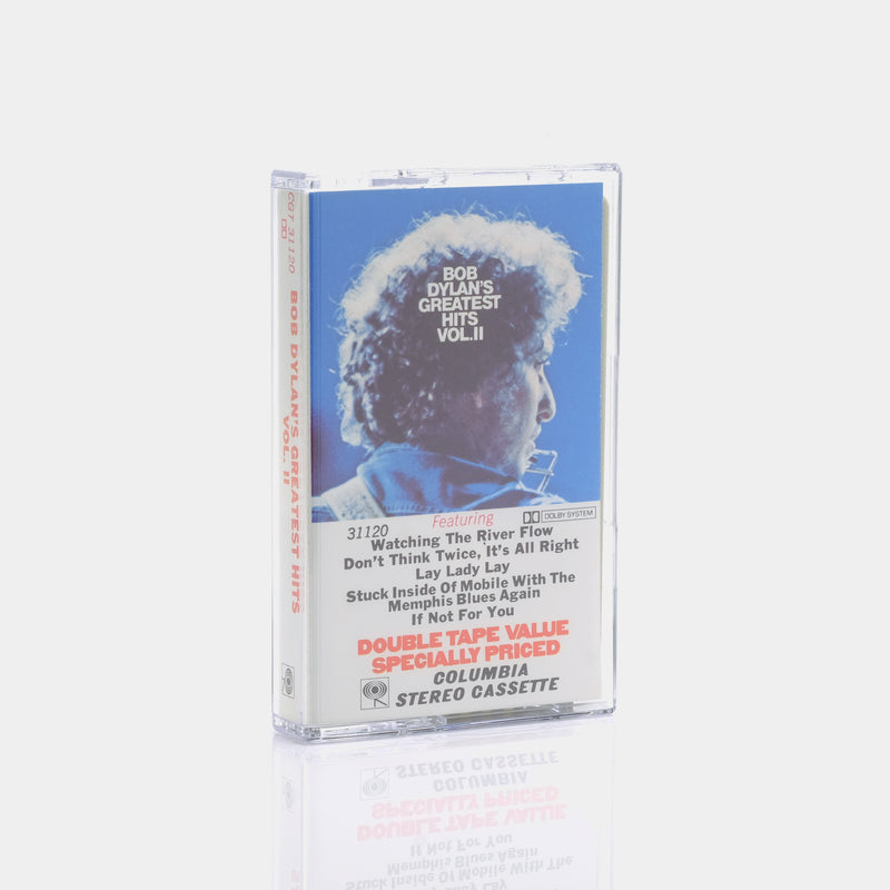 Bob Dylan's Greatest Hits - Vol. II (1971) Cassette Tape