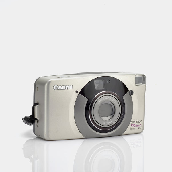 Canon Sure Shot 105 Zoom S Point and Shoot 35mm Camera