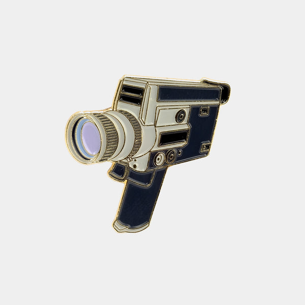 Canon Super 8mm Enamel Pin
