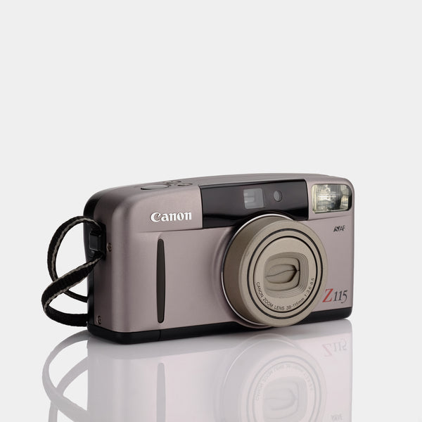 Canon Sure Shot Z115 Point and Shoot 35mm Camera