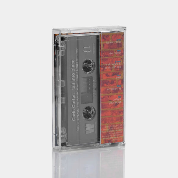 Carla Carter - Fall Into Place (1997) Cassette Tape