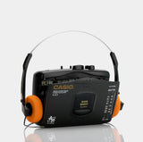 Casio AS-301R AM/FM Stereo Portable Cassette Player