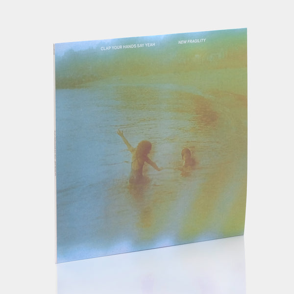 Clap Your Hands Say Yeah - New Fragility (2021) Milky Clear Translucent Vinyl Record