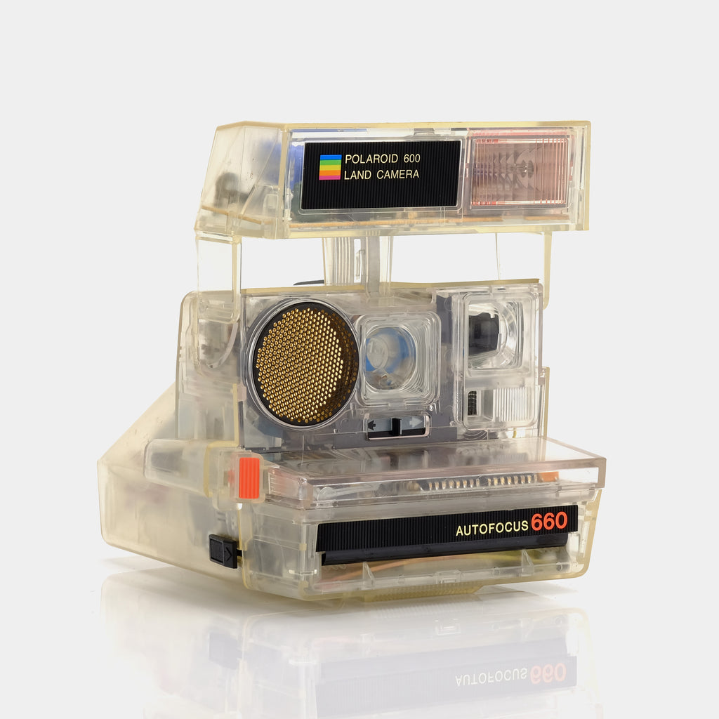 Polaroid Transparent Sun 660 600 Camera