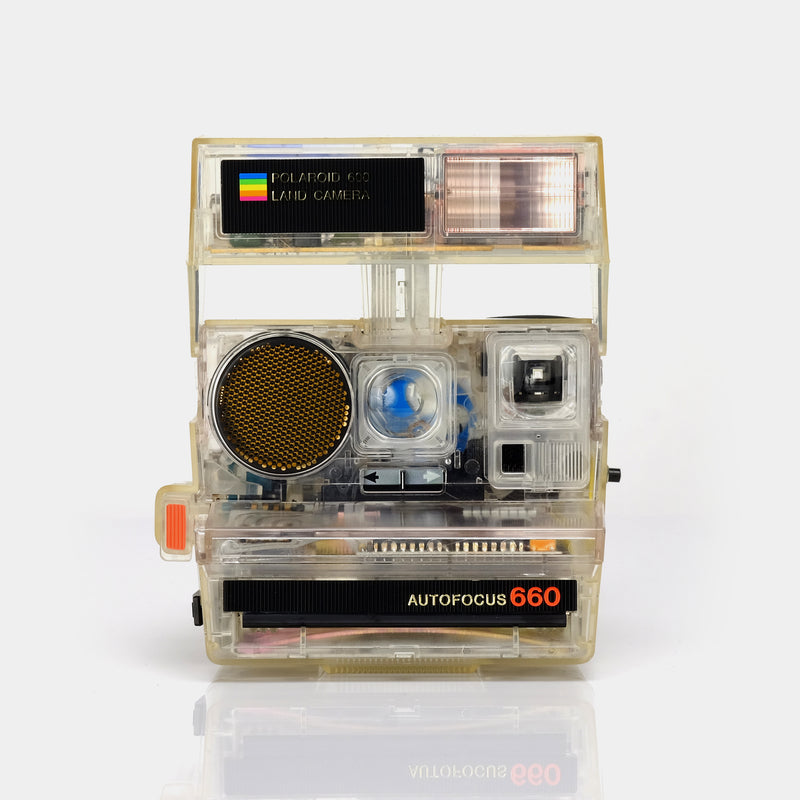 Polaroid 600 Transparent Sun660 Clear Instant Film Camera