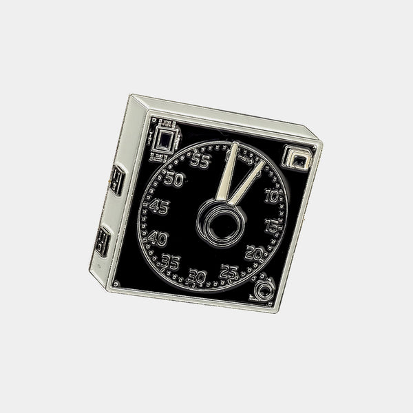 Darkroom Clock Enamel Pin