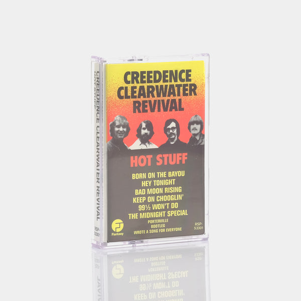 Creedence Clearwater Revival - Hot Stuff (1987) Cassette Tape