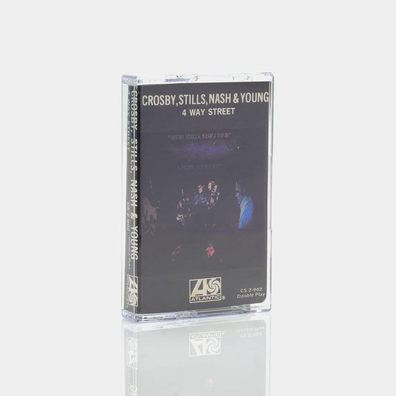 Crosby, Stills, Nash & Young - 4 Way Street (1971) Cassette Tape