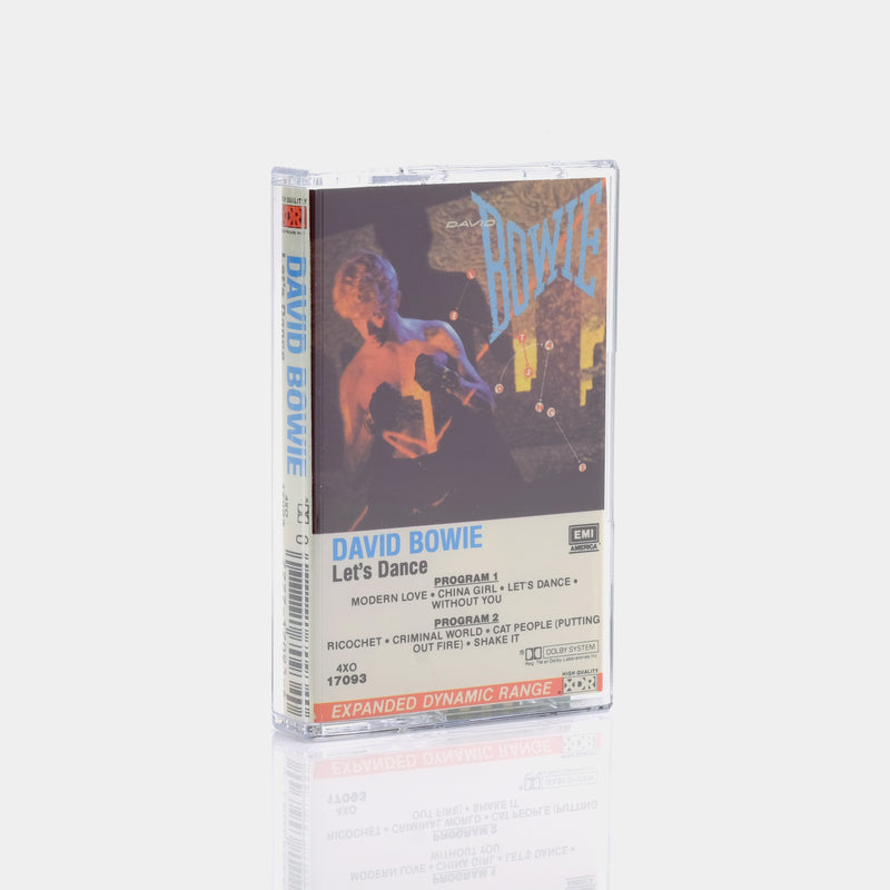 David Bowie - Let's Dance (1983) Cassette Tape