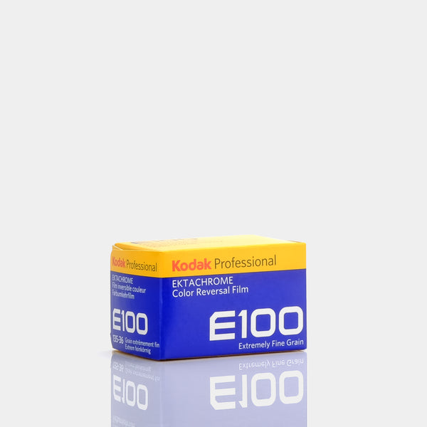 Kodak E100 35mm Color Reversal Film