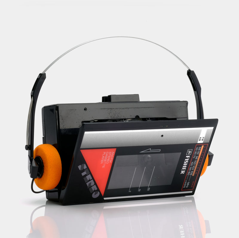 Fisher PH S250 AM/FM Portable Cassette Player