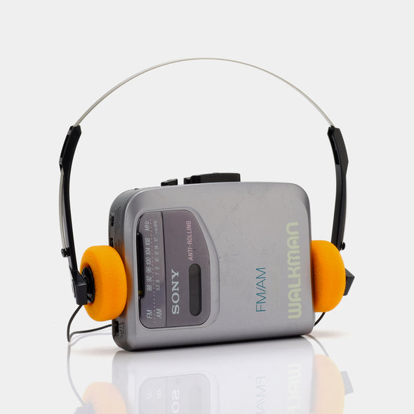Sony Walkman WM-F141 AM/FM Portable Cassette Player