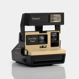 Polaroid 600 One Step Flash Tan Instant Film Camera