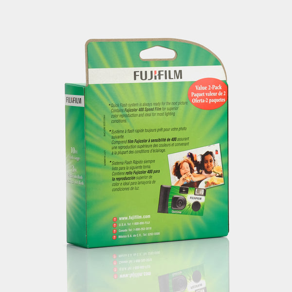 Fujifilm Disposable 35mm Film Camera 2 Pack