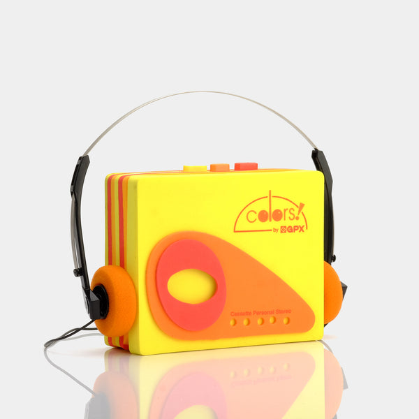 GPX Colors! Portable Cassette Player