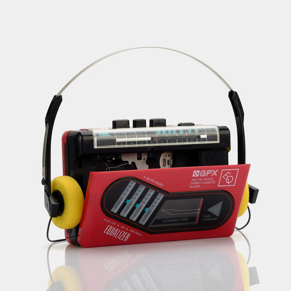GPX EQ AM/FM Portable Cassette Player