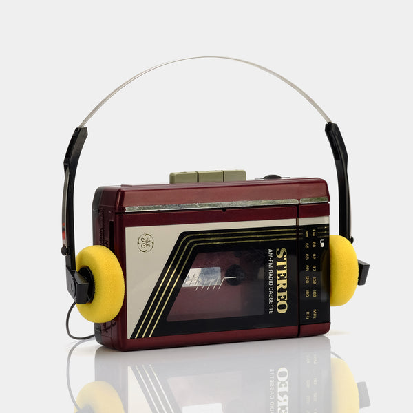 General Electric AM/FM Portable Cassette Player