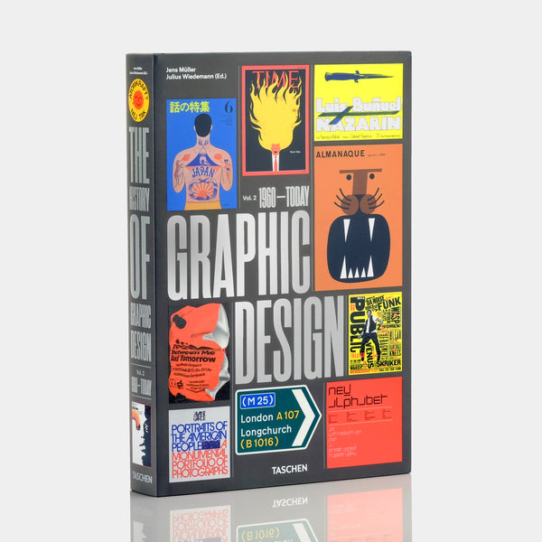 The History of Graphic Design. Vol. 2. 1960-Today XL Book