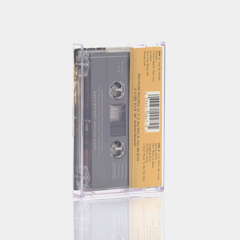 Greg Brown - Dream Café (1992) Cassette Tape