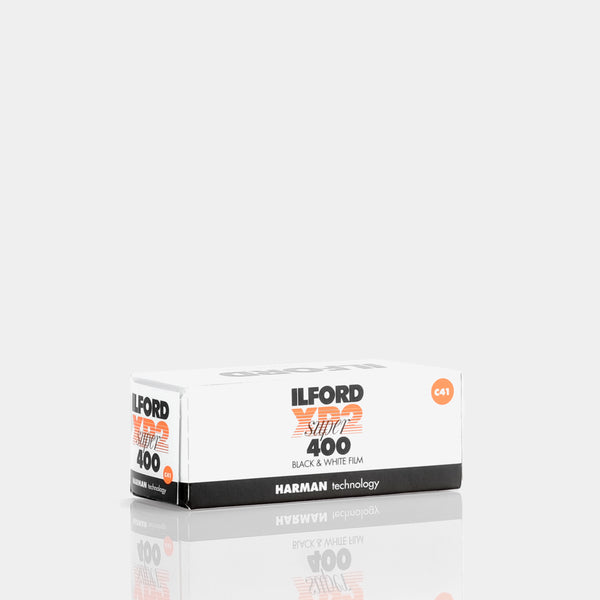 Ilford XP2 Super 120 Roll B&W Film