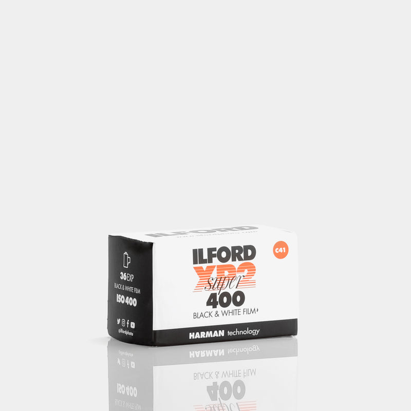 Ilford XP2 Super 400 35mm Black and White 35mm Film (36 Exposures)