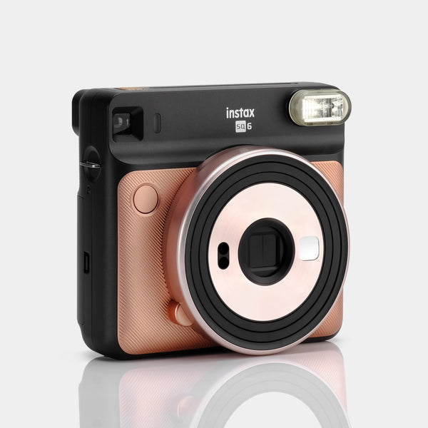 Fujifilm Instax SQUARE SQ6 Blush Gold Instant Film Camera