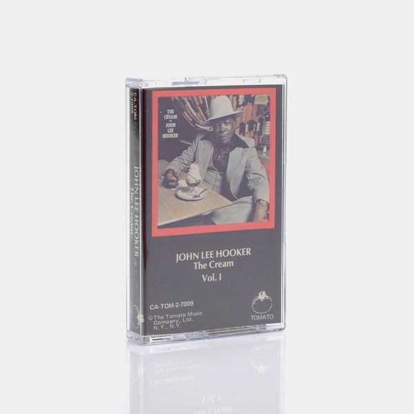 John Lee Hooker - The Cream Vol. I (1978) Cassette Tape