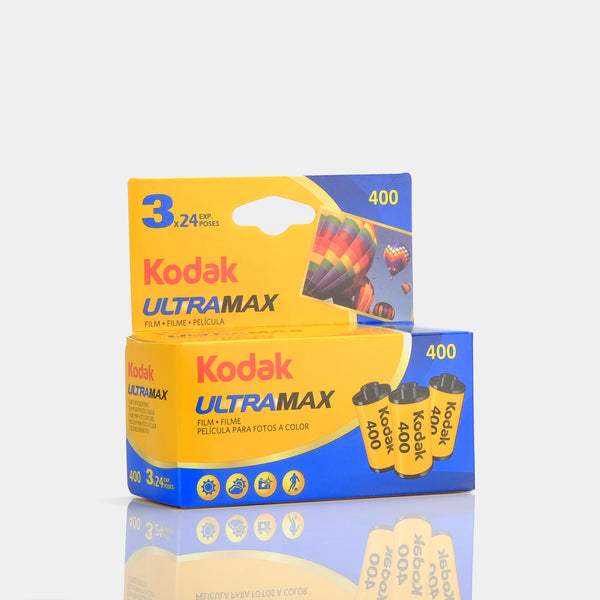 Kodak UltraMax 400 35mm Color Film - 3 Pack
