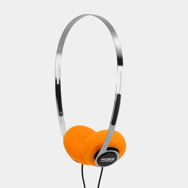 Koss x Retrospekt P/21 Retro Orange Foam On-Ear Headphones