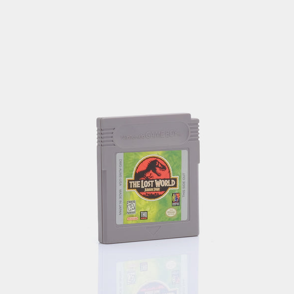 The Lost World Jurassic Park Game Boy Game