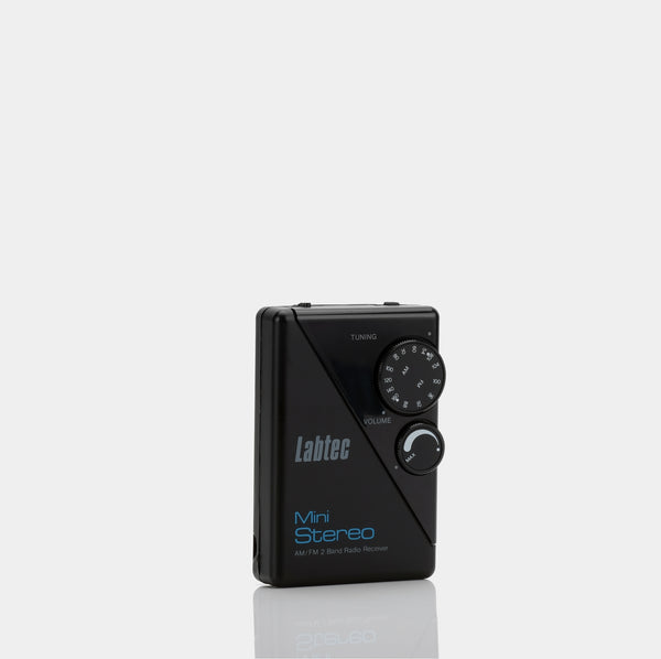 Labtec LR 5 Mini Stereo AM/FM Portable Radio