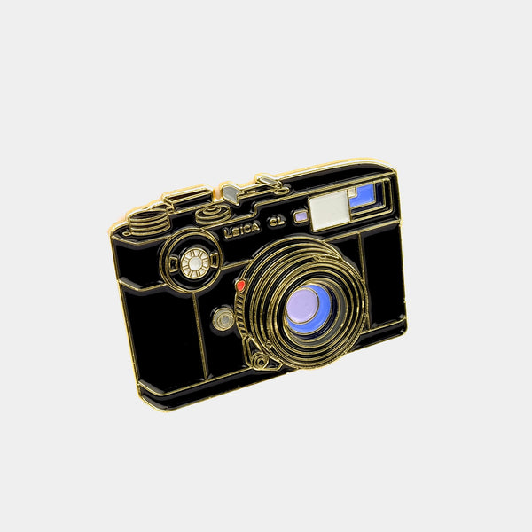 Lecia CL Rangefinder Camera Enamel Pin