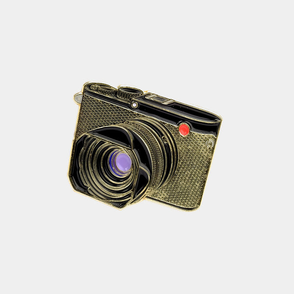 Leica Q Camera Enamel Pin
