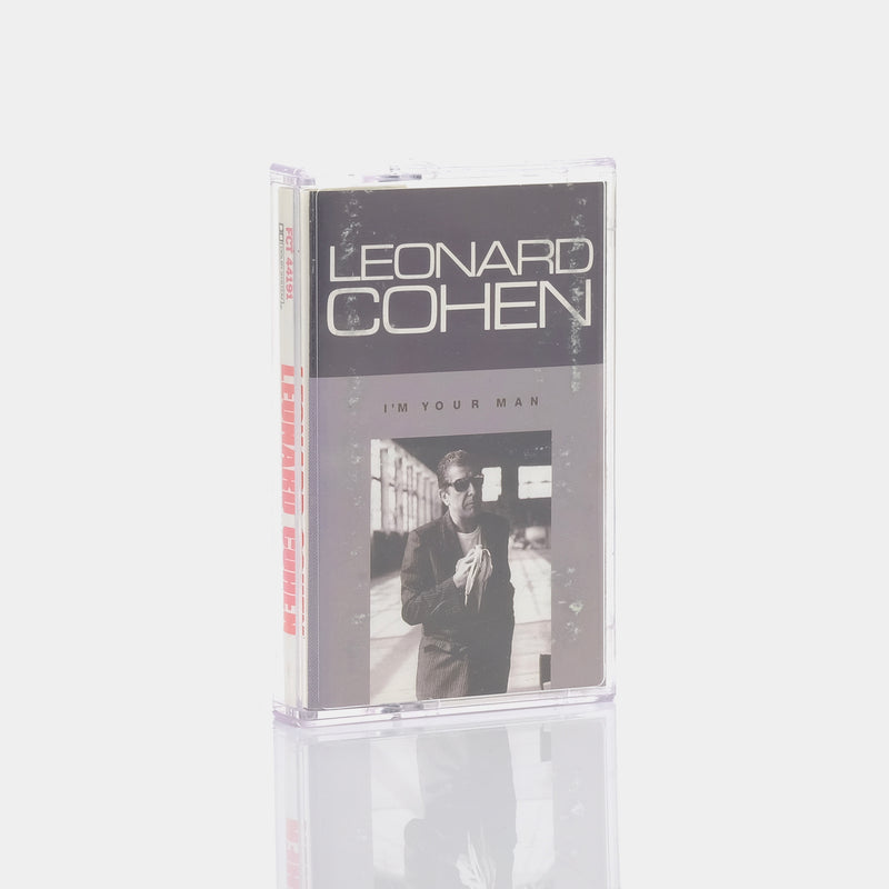Leonard Cohen - I'm Your Man (1988) Cassette Tape