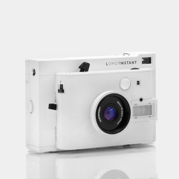 Lomography Lomo'Instant Instax Mini White Instant Film Camera