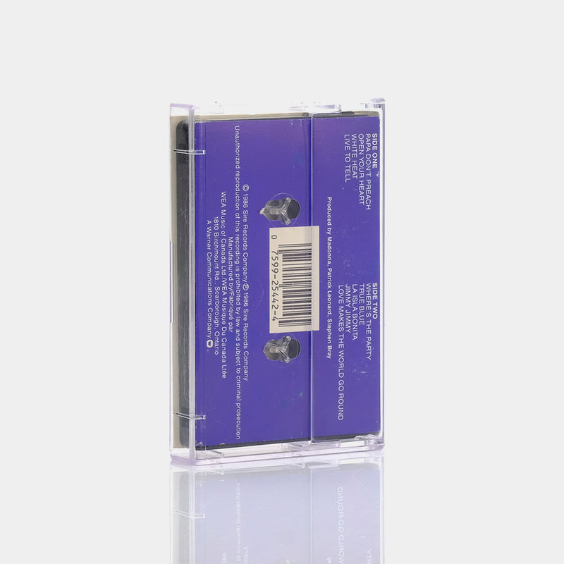 Madonna - True Blue (1986) Cassette Tape