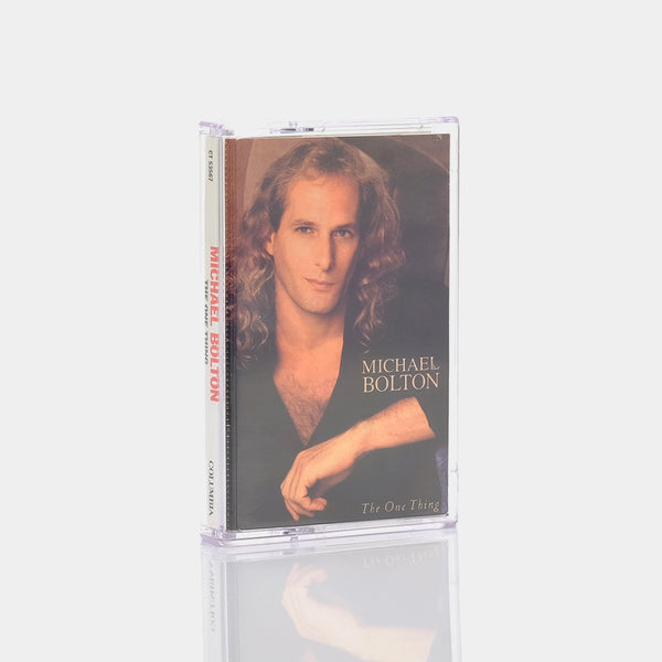 Michael Bolton - The One Thing (1993) Cassette Tape