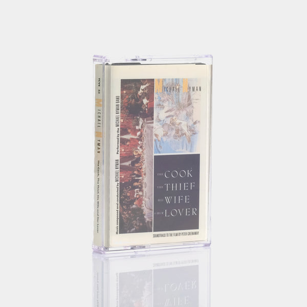 Michael Nyman - The Cook, The Thief, His Wife and Her Lover (1989) Cassette Tape