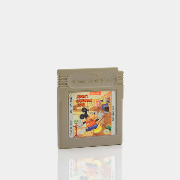 Micky's Dangerous Chase (1991) Game Boy Game
