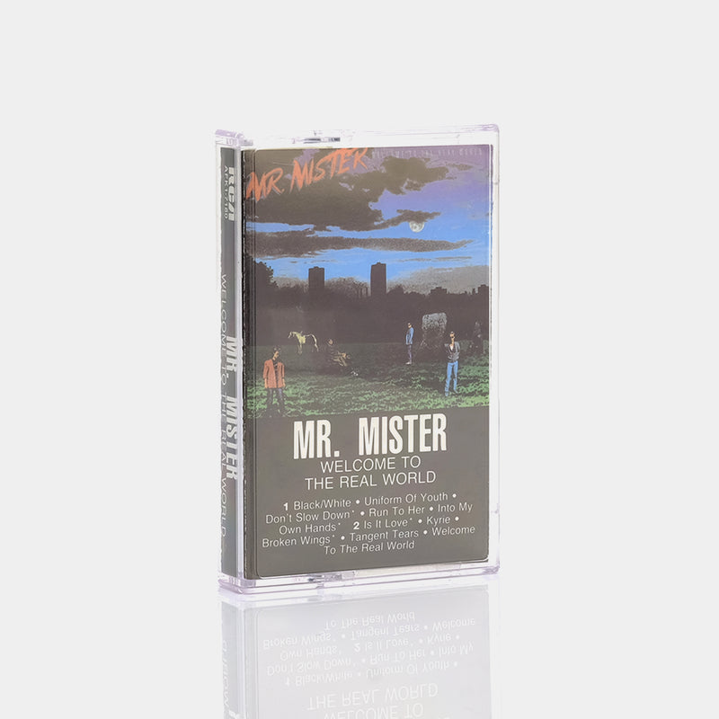 Mr. Mister - Welcome To The Real World (1985) Cassette Tape