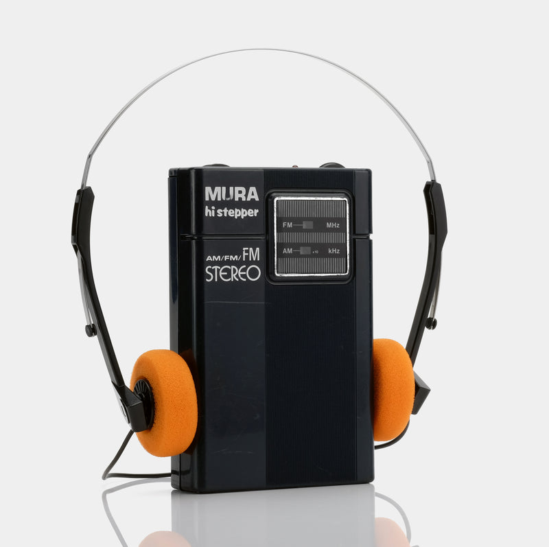 Mura Hi Stepper HI-5 AM/FM Portable Radio