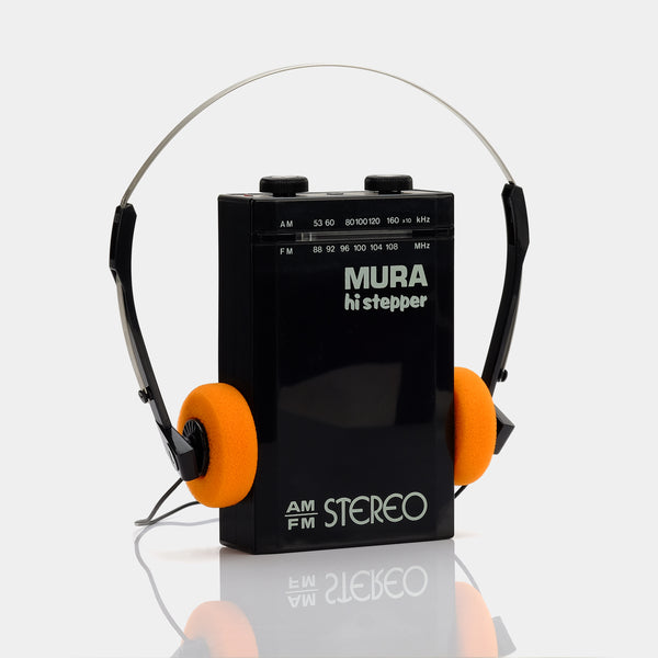 Mura Hi-Stepper AM/FM Portable Radio