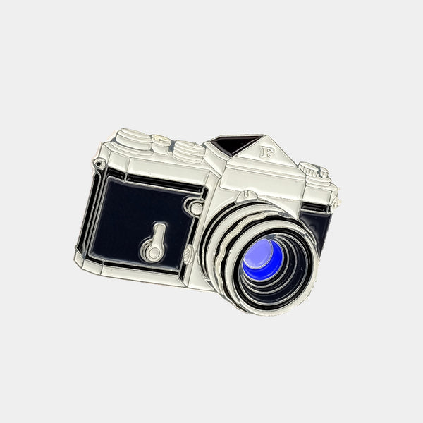 Nikon F Camera Enamel Pin