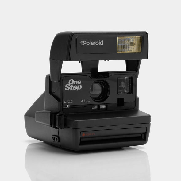Polaroid One Step 600 Camera - Black