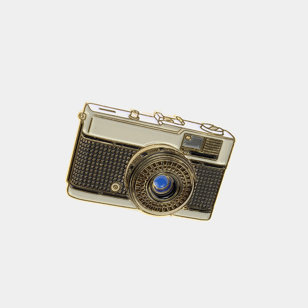 Olympus Pen / Trip Camera Enamel Pin