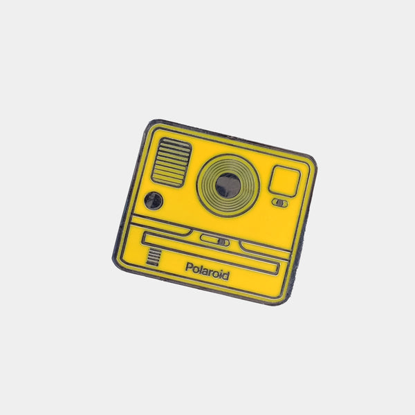 Yellow OneStep2 Polaroid Camera Enamel Pin