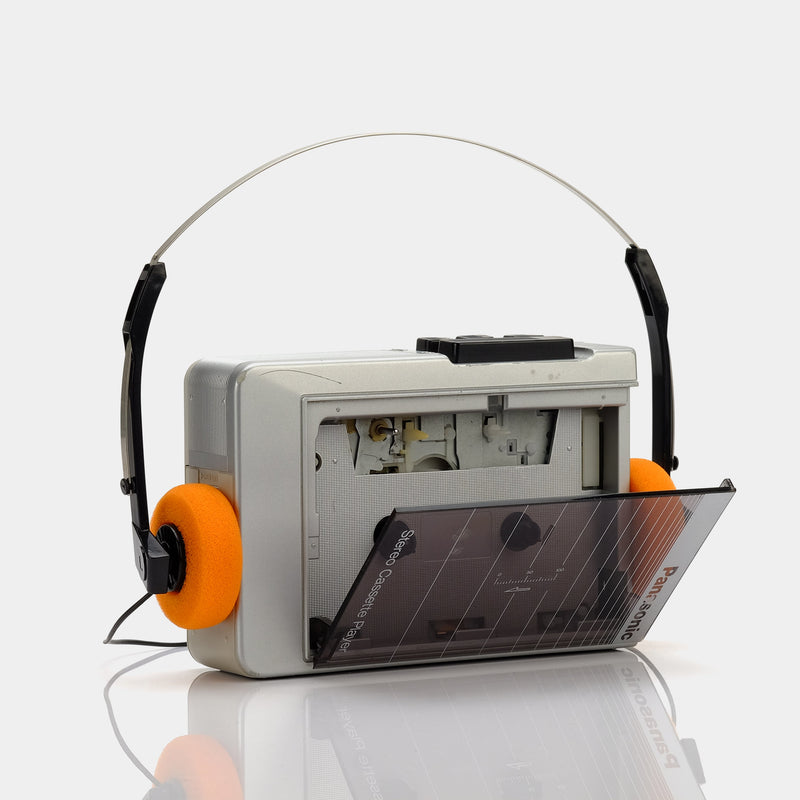 Panasonic Smoked Acrylic Portable Cassette Player