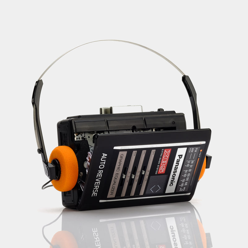 Panasonic AM/FM Portable Cassette Player