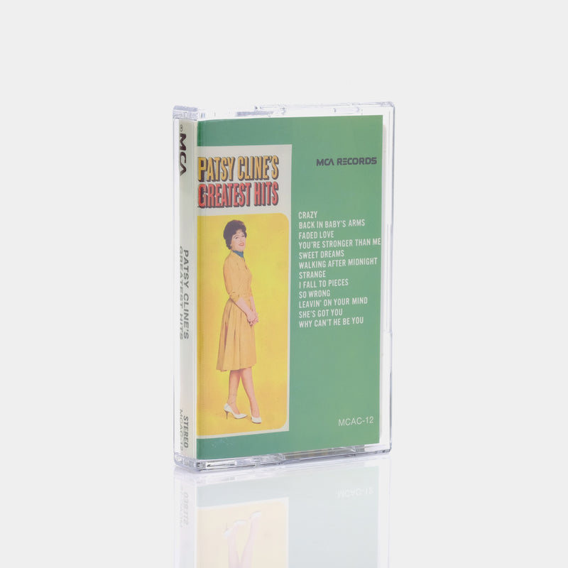 Patsy Cline's Greatest Hits (1971) Cassette Tape